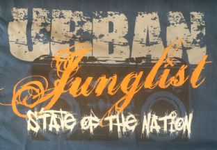 Urban Junglist - State of The Nation - T-shirt - Blue